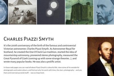 Charles Piazzi Smyth website