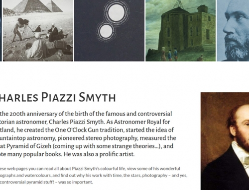 Website for Charles Piazzi Smyth
