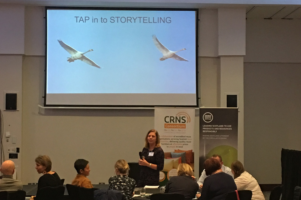 HIlary Phillips at the CRNS Conference
